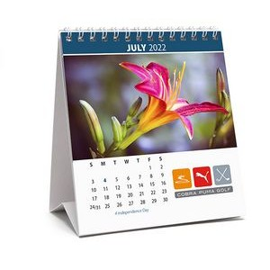 Nature, Floral or Seasonal Stock Photo Desk Calendar (4 3/4