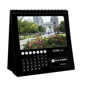 12 Photo Custom Desk Calendar (5 1/2