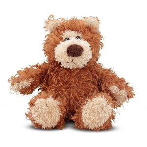 7 Melissa & Doug Baby Roscoe Bear Plush Toy - Tan